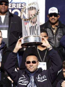 NY Yankees Derek Jeter Trophy